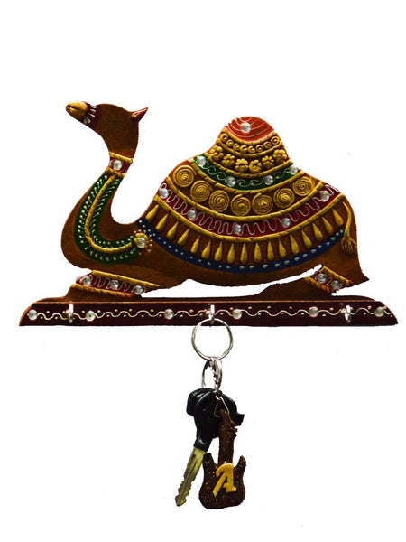 Paper Mache Camel Key Holder-EC-KKPMB1SP106