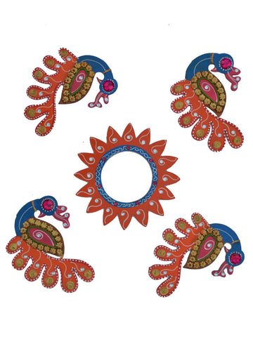Decorative Floor Rangoli -EC-KKPMB1SP115