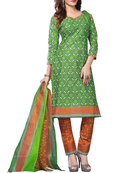 Cotton Suit From Kolkata In MultiColour - FPKWA16JN41
