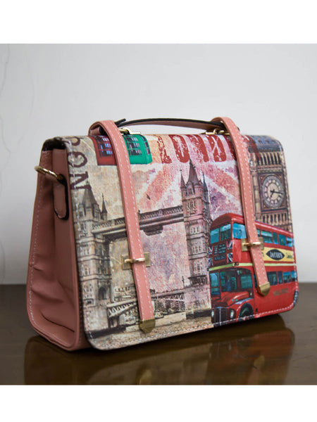 Tote Bag From Delhi In Multicolor - AE-CDBT18JL5