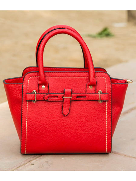 Tote Bag From Delhi In Red - AE-CDBT18JL38