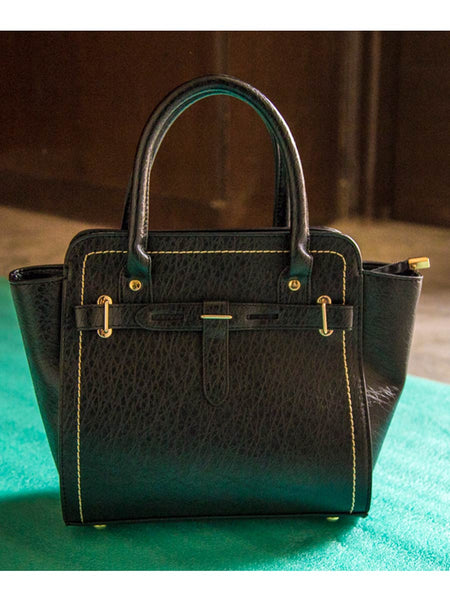 Tote Bag From Delhi In Black - AE-CDBT18JL40