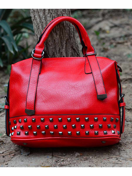 Tote Bag From Delhi In Red - AE-CDBT18JL58