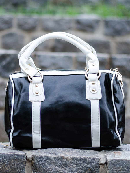 Tote Bag From Delhi In Black - AE-CDBT18JL88