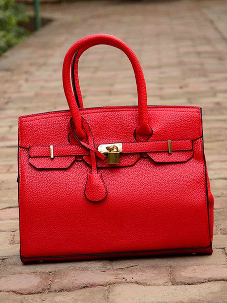 Tote Bag From Delhi In Red - AE-CDBT18JL138