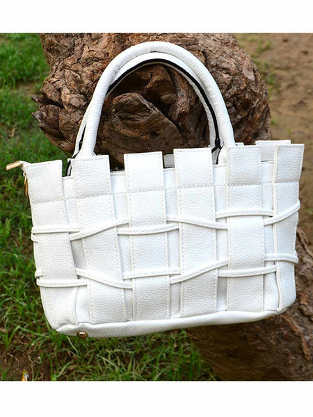 Tote Bag From Delhi In White - AE-CDBT18JL158