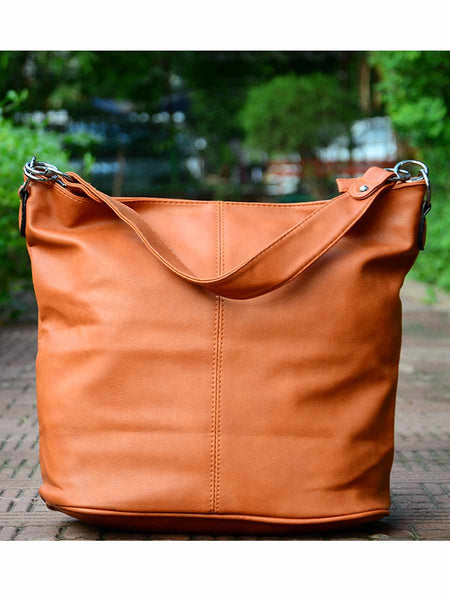 Tote Bag From Delhi In Brown - AE-CDBT18JL162