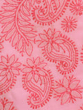 Cotton Embroidered Chikankari Suit In Pink -  M1-PLUS15FB2
