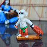 Polyresin Ganesha with Luggage on Vacation Showpiece - EC-HJRPW3AG225