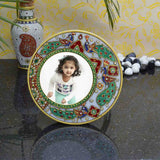 Marble Photo Frame With Peacock-EC-HJRME5MY5