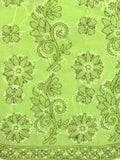 Cotton Chikankari Suit From Lucknow In Green -  M1-PLSU6JN4