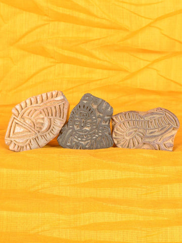 Wooden Blocks From Jodhpur  (Set of 3) -  MR-RJB9JN12