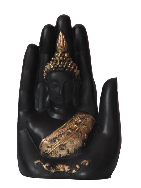 Golden Handcrafted Buddha Palm - EC-HJRME24MA376