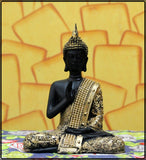 Handcrafted Meditating Blessing Buddha - EC-HJRME24MA380