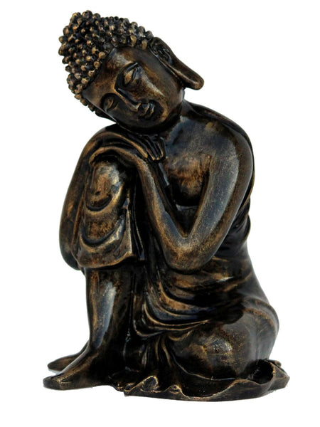 Handcrafted Antique Finish Knee Buddha - EC-HJRME24MA372