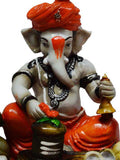 Lord Ganesha Performing Shiva Pooja With 2 Rats-EC-KKPMB1SP86