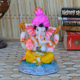 Synthetic Lord Ganesha with Turban - EC-HJRPY3AG116