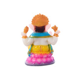 Polyresin Colorful Chaturbhuj Lord Ganesha Figurine - EC-HJRME24MA330