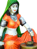 Polyresin Rajasthani Lady Using Flour Machine-EC-KKPMB23FB32