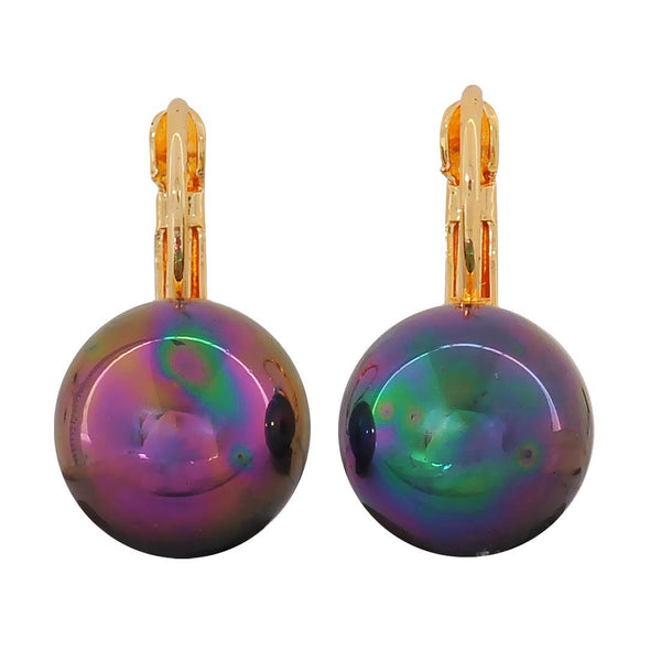 Dashing Multicolour Pearl Party Dangler Earrings - MCHUJE1OT340