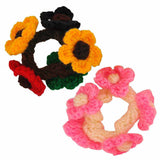 Exquisite Multicolour Designer College Rubber Bands - MCHUJH27FB56