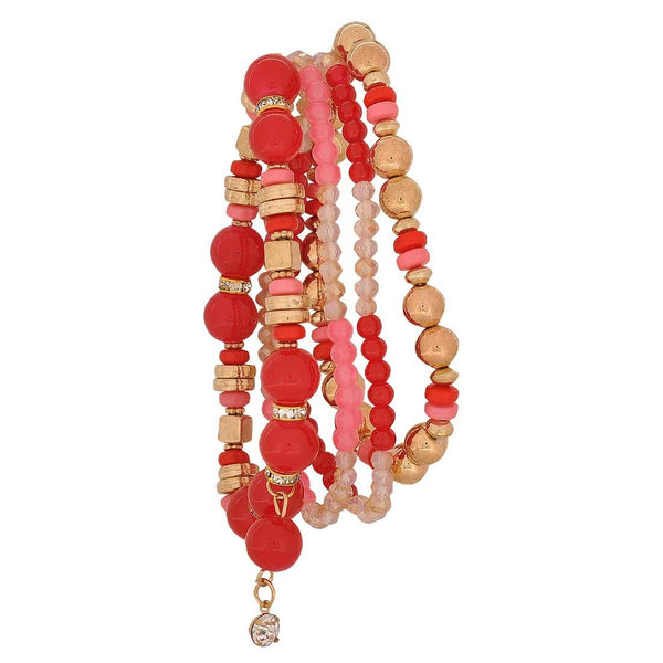 Smashing Multicolour in-Trend Adjustable Cocktail Size Bracelet - MCHUJB28AP262