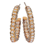 Gorgeous Gold Victorian Casualwear Drop Earrings - MCHUJE26FB939