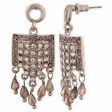 Special Silver Designer Cocktail Drop Earrings - MCHUJE4AG31