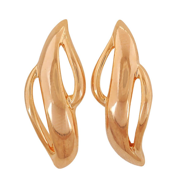 Amazing Gold Designer Cocktail Drop Earrings - MCHUJE4AG85