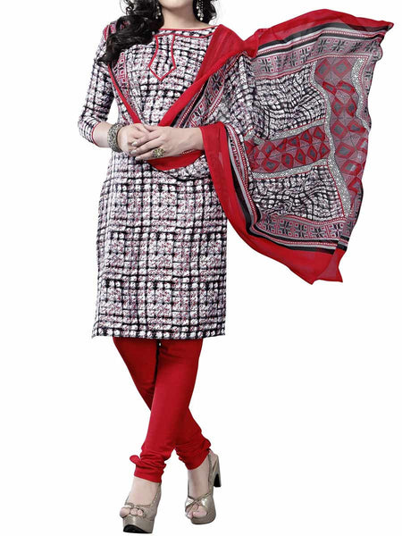 Cotton Suit From Kolkata In Multicolour - FPKWA9AG81
