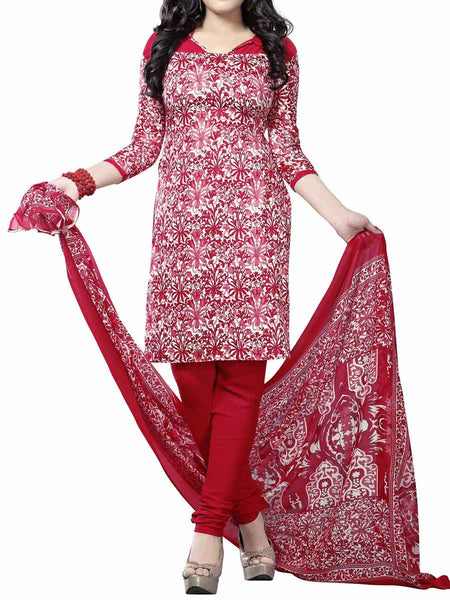Cotton Suit From Kolkata In Multicolour - FPKWA9AG84