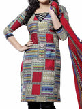 Cotton Suit From Kolkata In Multicolour - FPKWA9AG87