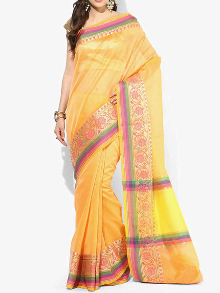 Banarasi Saree In Orange - RB-BPBUSA11JL394