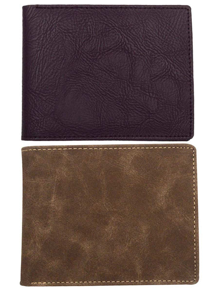 Set Of 2 Kanpur Leatherite Wallet In Purple & Brown - NCKMW27JN5.6