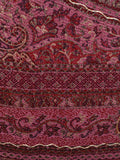Cashmere Shawl From Kashmir In Pink - OH-CKHSH17D3