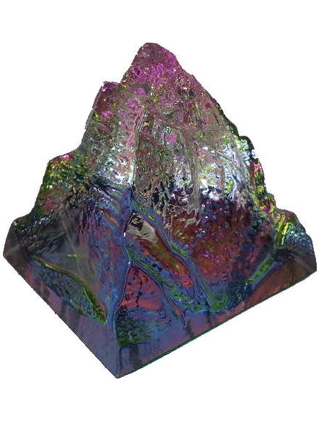 Rock Crystal Pyramid For Healing In Multicolour - PCDH12JL12