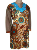 Printed Kurti From Rajasthan In Multicolor - PJRKLB19MY109