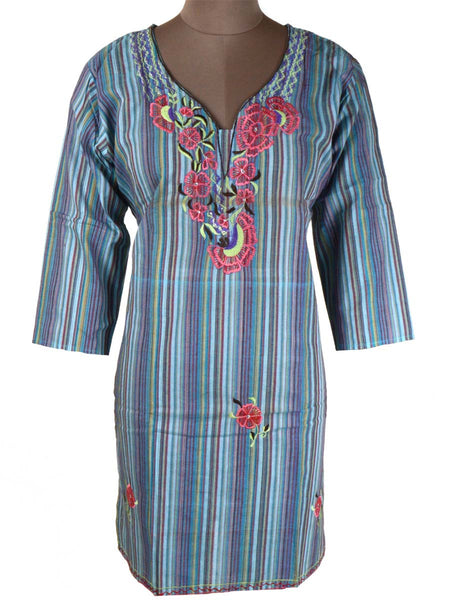 Printed Kurti From Rajasthan In MultiColor - PJRKLB19MY24