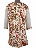 Printed Kurti From Rajasthan In MultiColor - PJRKLB19MY28