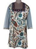 Printed Kurti From Rajasthan In MultiColor - PJRKLB19MY47