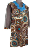 Printed Kurti From Rajasthan In MultiColor - PJRKLB19MY79