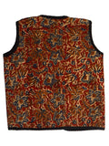 Kids Printed Reversible Jacket From Rajasthan In MultiColour - PJRSJ23N11