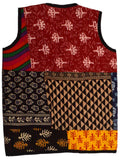 Kids Printed Reversible Jacket From Rajasthan In MultiColour  - PJRSJ23N3