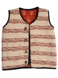 Kids Printed Reversible Jacket From Rajasthan In MultiColour - PJRSJ23N8