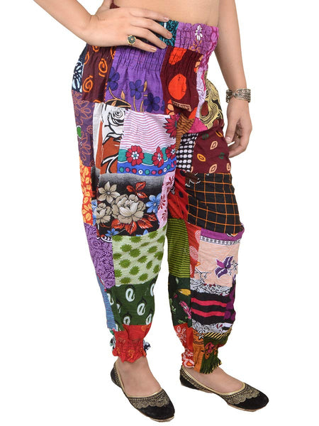Harem Pant From Jaipur In  Multi Color - PJRTHD3N53