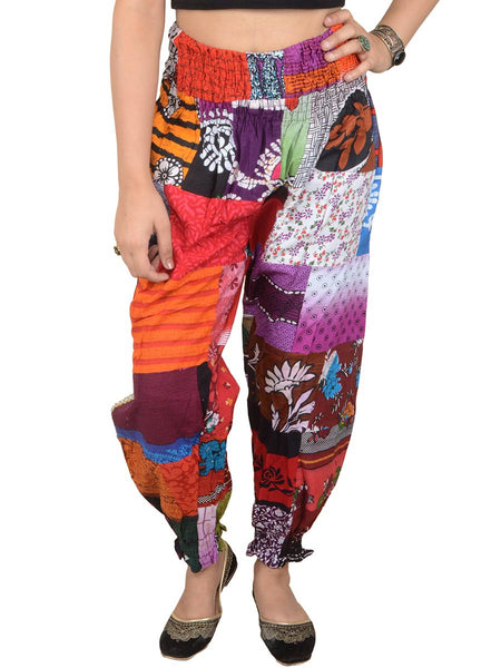Harem Pant From Jaipur In  Multi Color - PJRTHD3N55