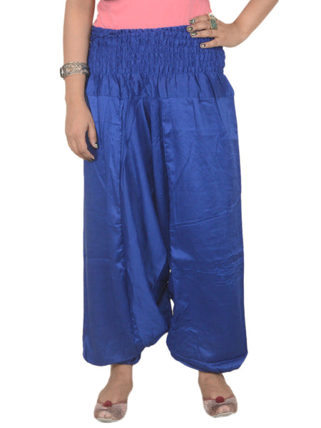 Harem Pants From Jaipur In Palatinate Blue - PJRTHP22AP2