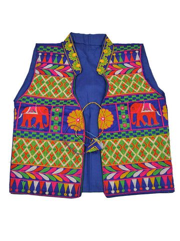 Kutch Jacket In Blue - PKGJL11MH26