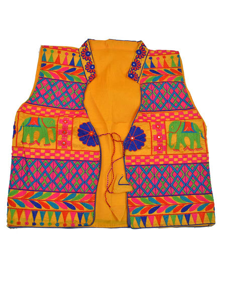 Kutch Jacket In Yellow - PKGJL11MH3