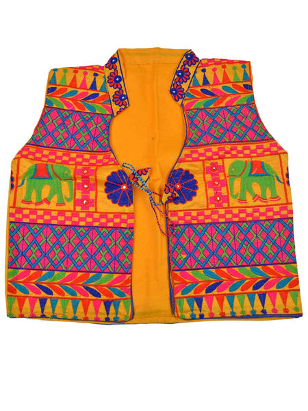 Kutch Jacket In Yellow - PKGJL11MH5
